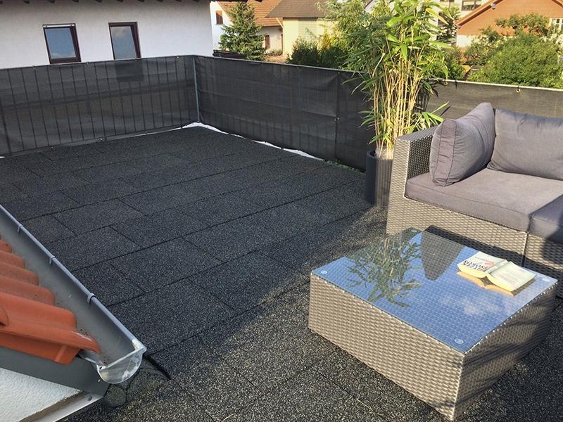 Balkon Terrassen Und Fallschutzmatten Als Bodenbeläge RTS - Terrassenplatten für dachterrasse